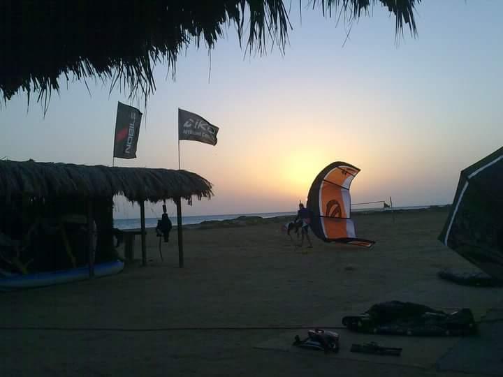 Kitefurfing spot El Gouna