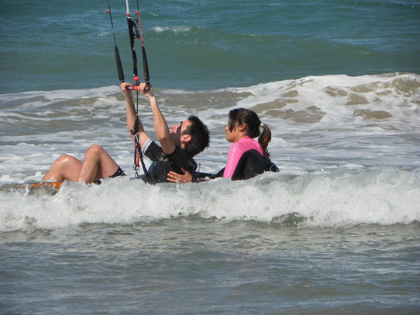 Kitesurfing spot Piles