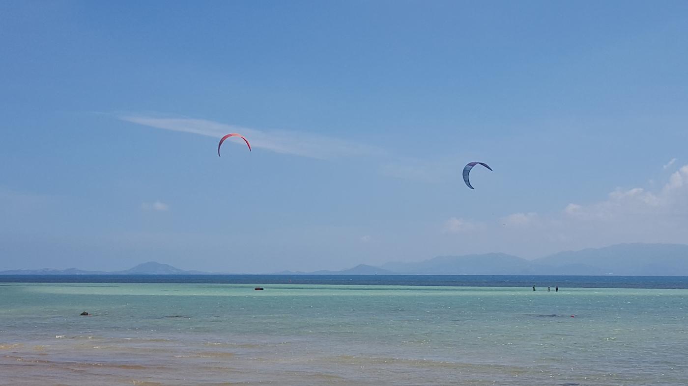 Kitesurfing spot Koh Phangan